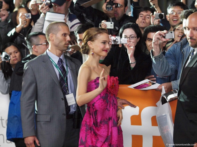 Natalie Portman at the Toronto International Film Festival