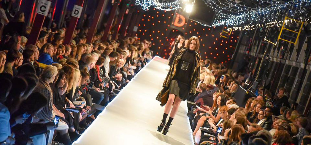 The fashion shows feature both international guests and native designers