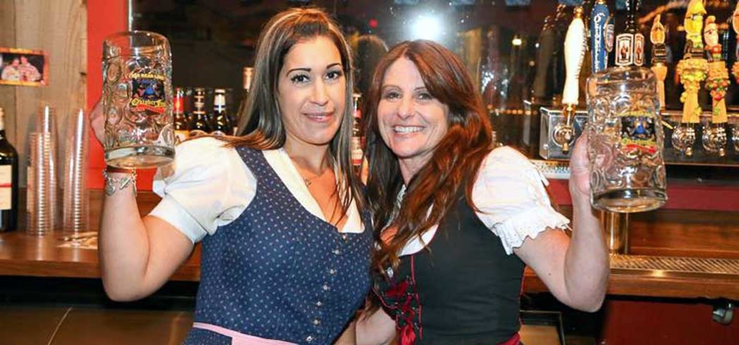 Beer maids in style at Big Bear Oktoberfest