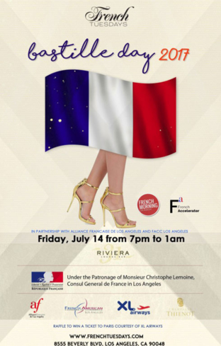 Bastille day celebration with French Tuesdays in Beverly Hills