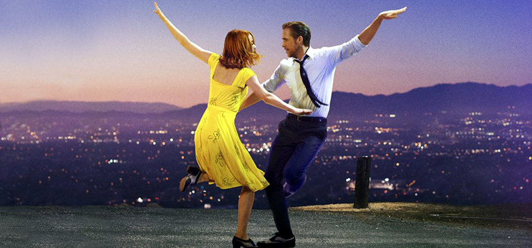 Emma Stone and Ryan Gosling perform in LaLa Land