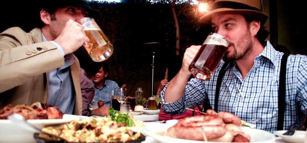 Oktoberfest at Lucques in WeHo