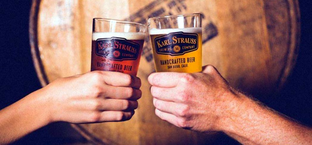 Karl Strauss is one of the popular brands set to serve up beers at the Taste of Brews in Long Beach