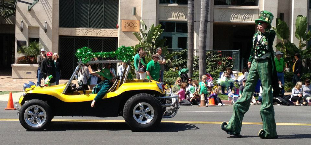 Enjoy the lineup at San Diego St. Patrick's Day Parade and Festival