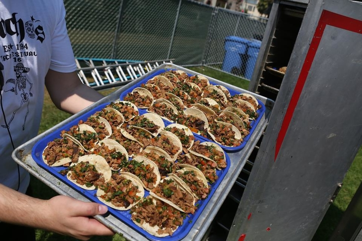 Chacho's tacos at the Silicon Valley Music and Taco Festival