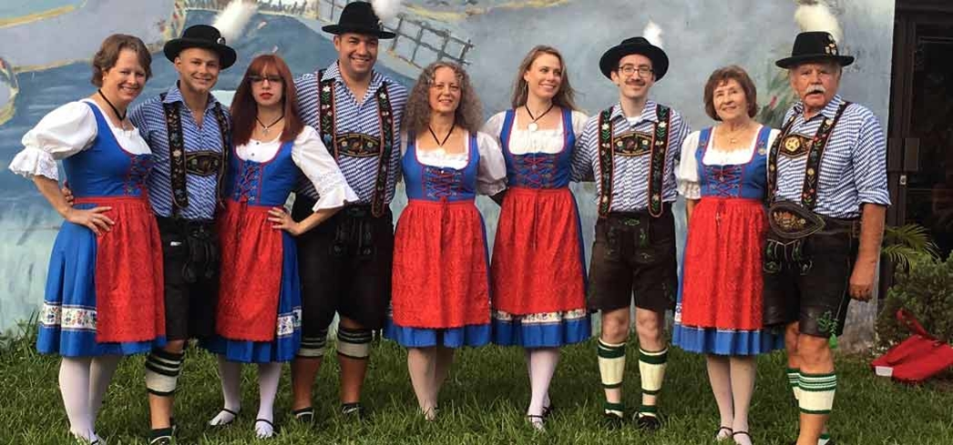 Getting in the Oktoberfest spirit