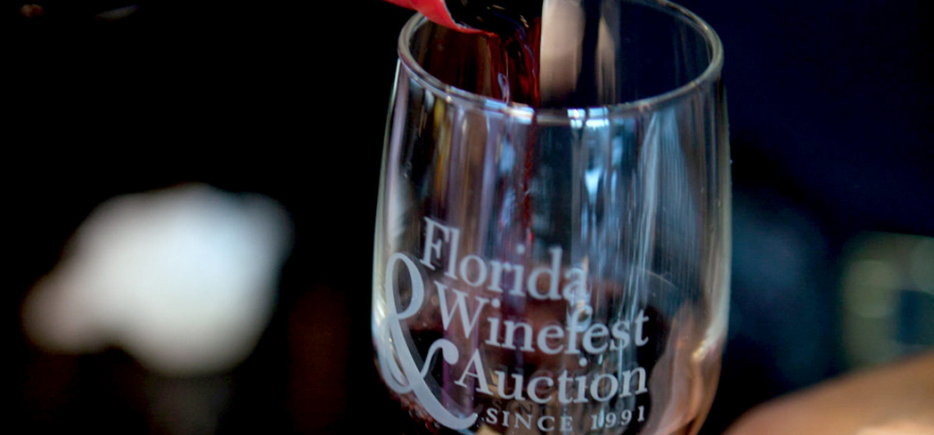 The Florida Wine Fest & Auction allows guests to imbibe in fine wine and cuisine
