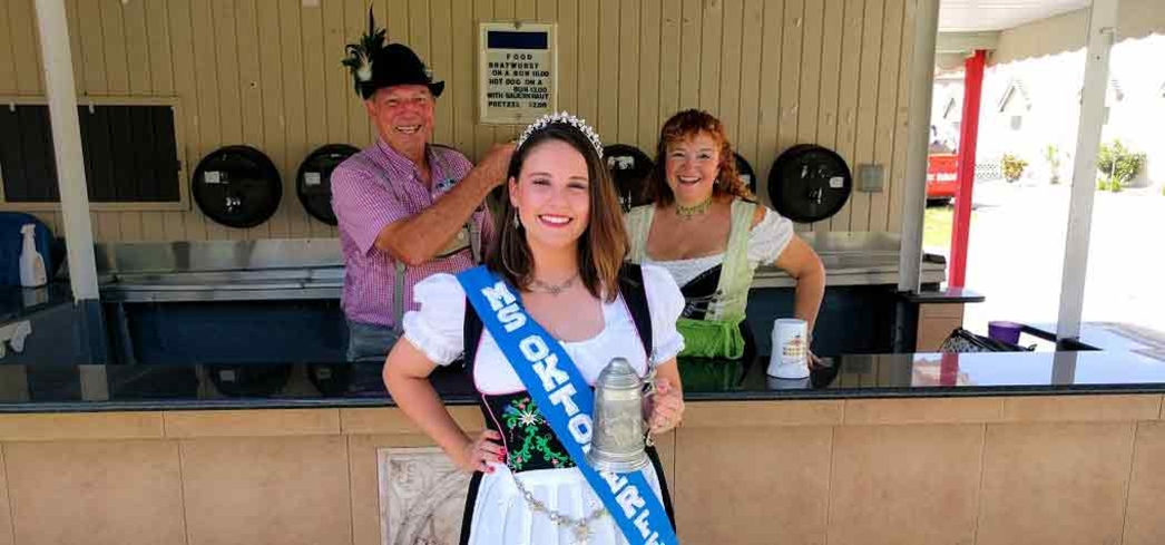 Ms. Oktoberfest is crowned during the Cape Coral Festivities
