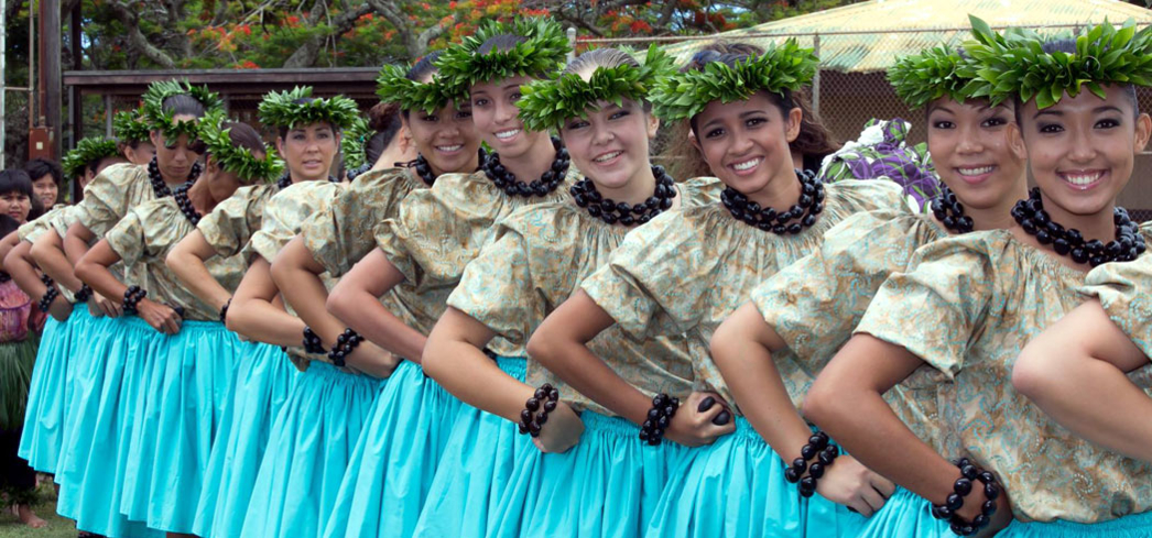 Dancers perform during Koloa Plantation Days festivities