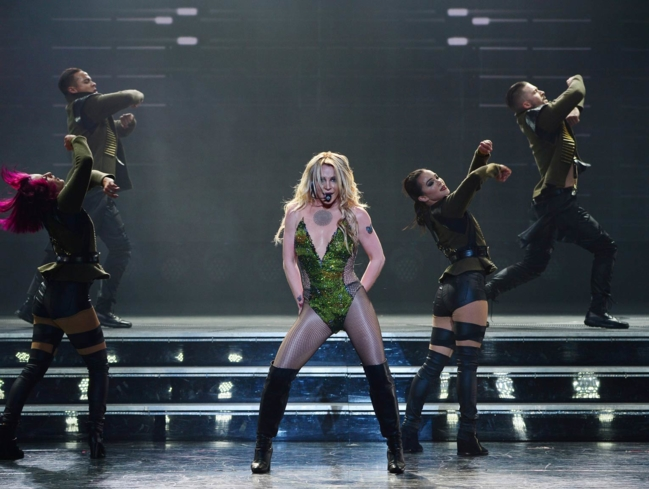 See Britney Spears perform her classic hits and new tracks