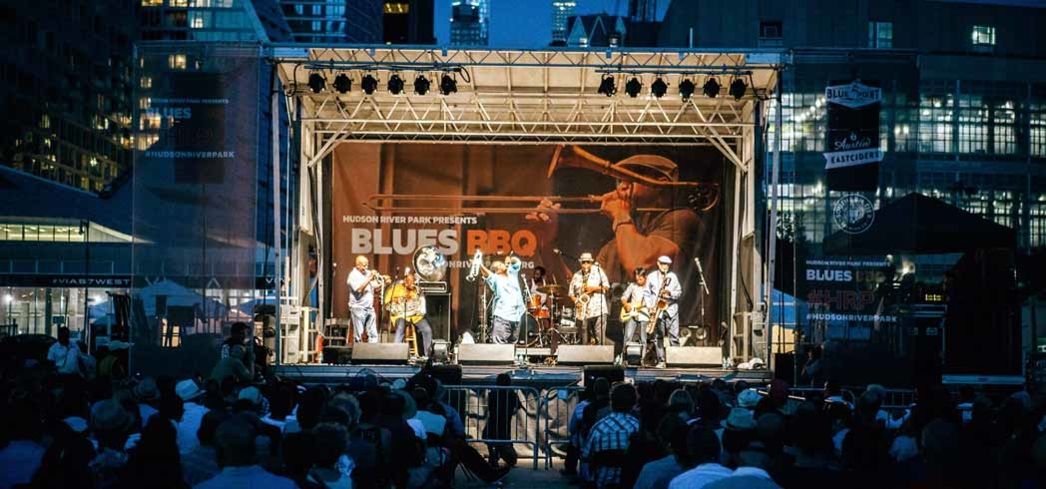Blues BBQ Festival at Hudson River Park