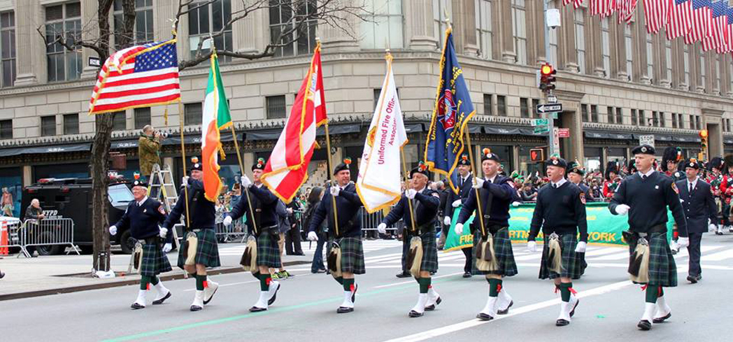 Celebrate Saint Patrick's Day at the world's largest parade