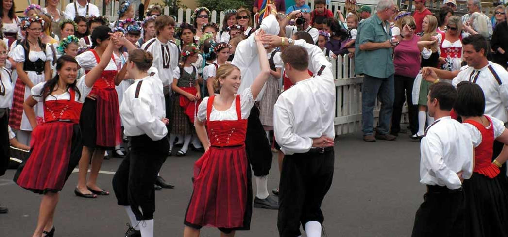 The Fleckensteiners dance troupe