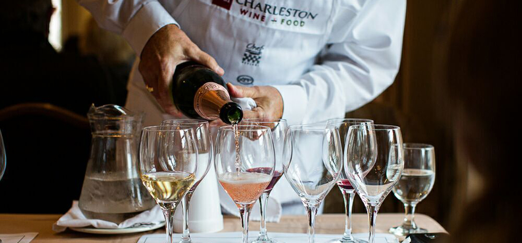 The Charleston Wine + Food Festival provides an unending variety of delicious food and drink to indulge in