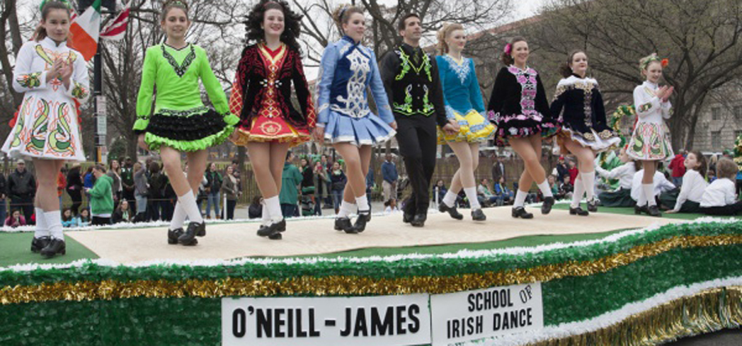 Celebrate St. Paddy's Day in the capital