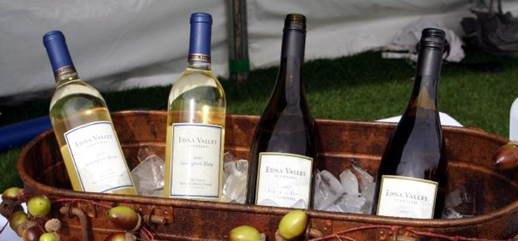 Some of the wines available during the Harvest on the Coast