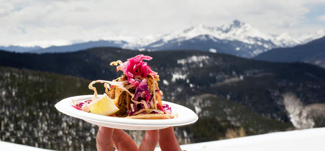 Dine and drink among the Rocky Mountains at the Taste of Vail