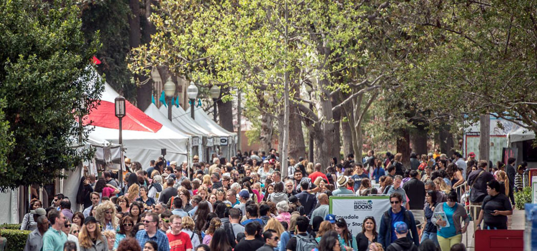 Bibliophiles swarm the USC campus for the Festival of Books