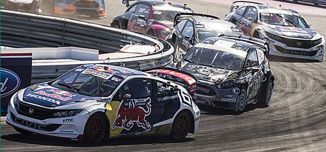 Memphis International Raceway hosts the Red Bull Rally Cross