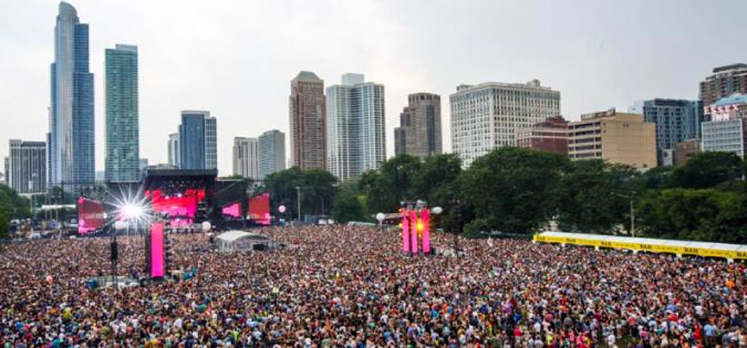 Nearly 400k attended the 2016 Lollapalooza