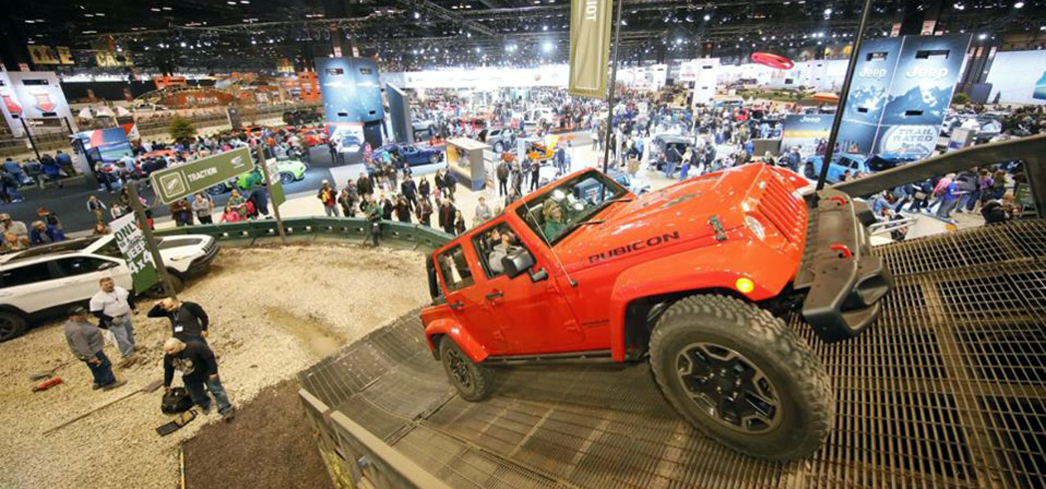 The Camp Jeep at the Chicago Auto Show