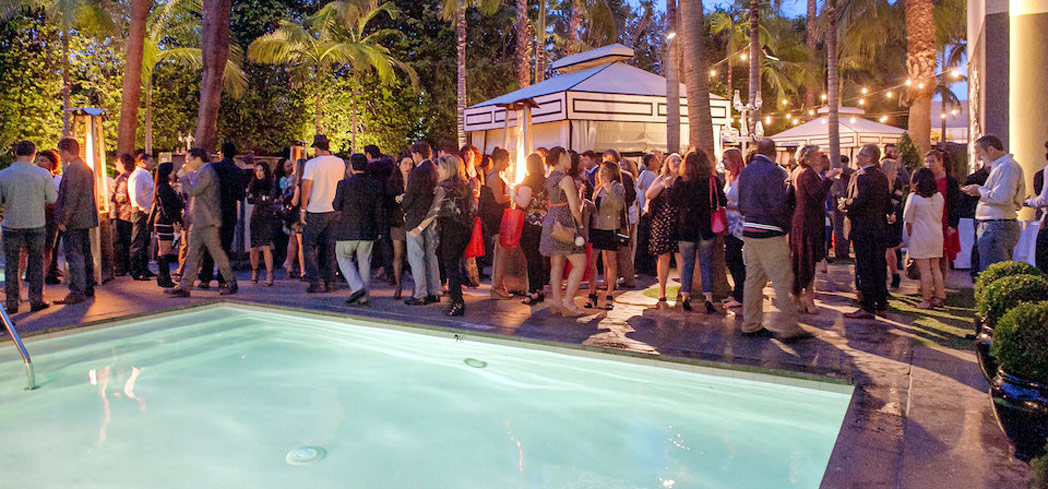 Mix and mingle at the Viceroy in Santa Monica