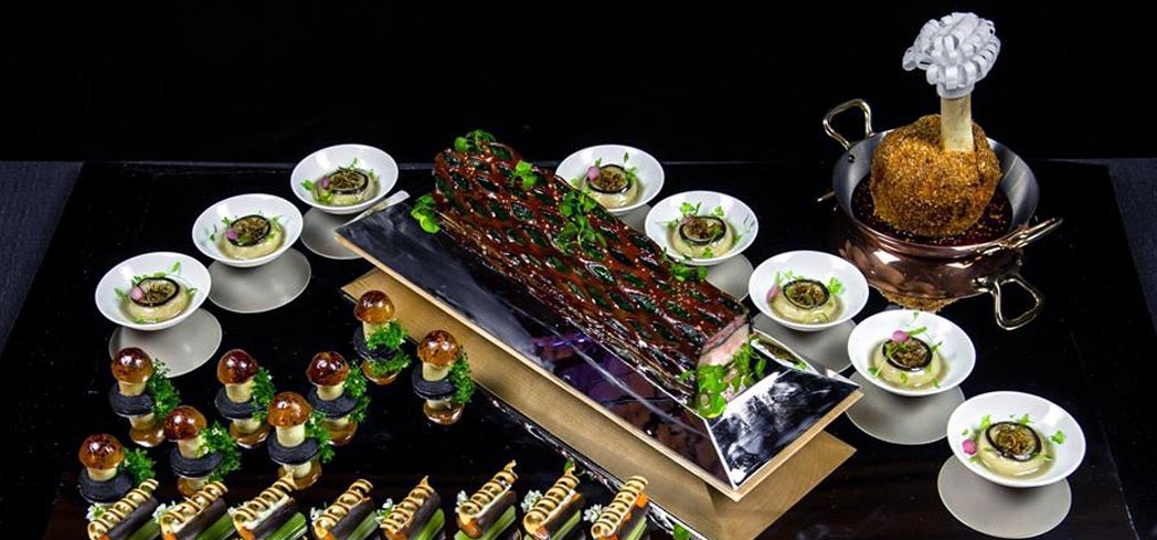 A competing dish in the Bocuse d'Or