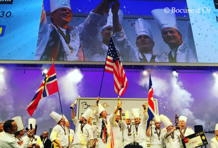 The Bocuse d'Or 2017 Winners © Bocuse d'Or