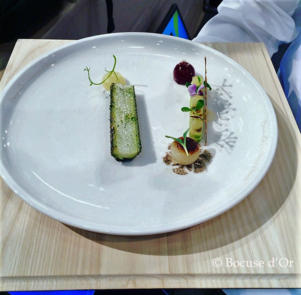 The plate from Team Norway © Bocuse d'Or
