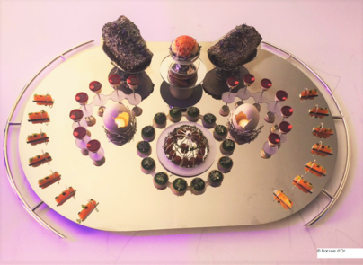 The tray from Team Canada © Bocuse d'Or