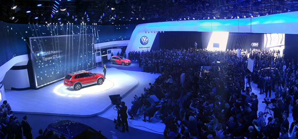 The latest cars on display during the North American International Auto Show
