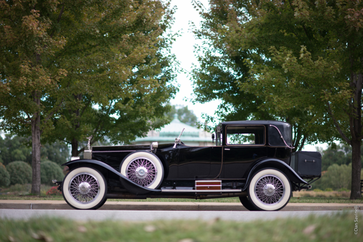 The 1923 Rolls Royce Silver Ghost, Riviera Town Car featured in the 2017 Concours dElegance of America