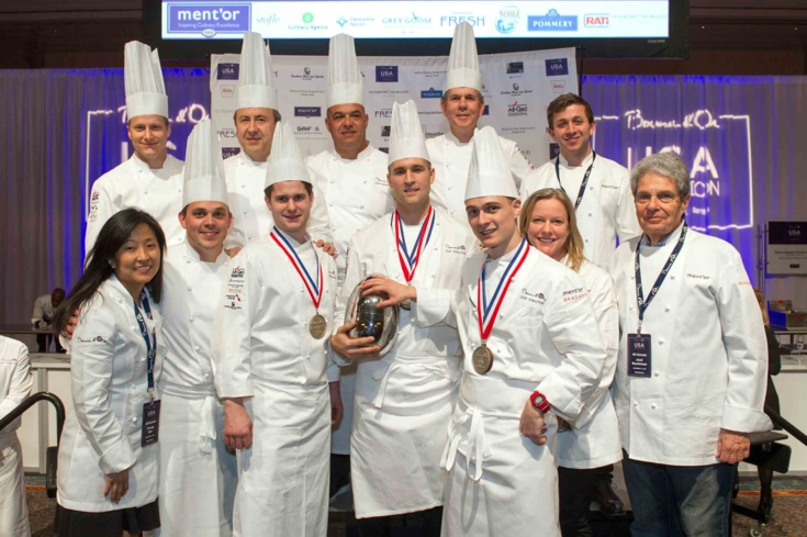 Team USA National Selection for the 2015 Bocuse d'Or