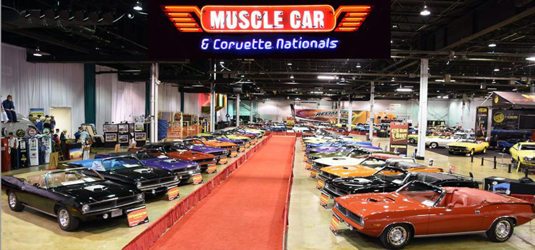 The Muscle Cars and Corvette Nationals feature more than 500 cars.