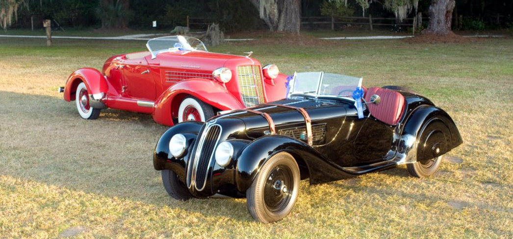 Expect vintage vehicles during the Hilton Head Concours d'Elegance
