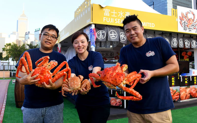 Seafood delights at the Hong Kong Festival