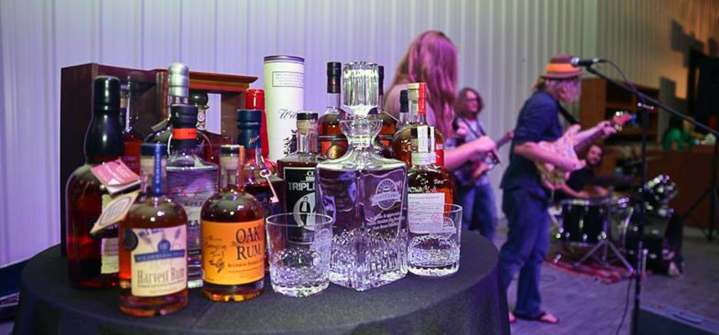 The All-Star Bourbon Sampler at the Bourbon Fest