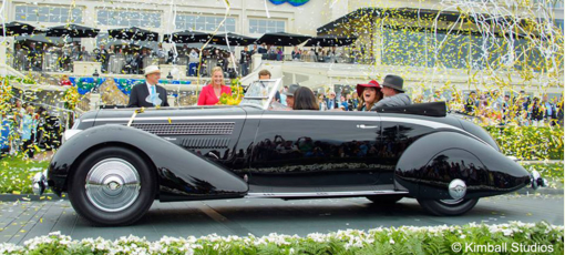 The Pebble Beach Concours d'Elegance