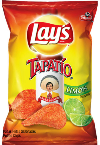 Lay's Tapatio Limon chips - 10 Latin-inspired Foods