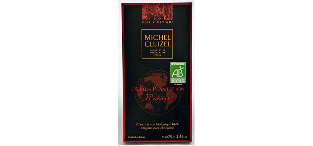 Michel Cluizel Mokaya 66 Percent Dark Chocolate has notes of ripe fruit and flowers