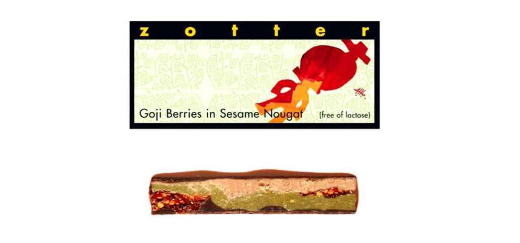 Zotter Chocolates offers an array of mind-boggling ingredients from green tea ganache to sweet hummus
