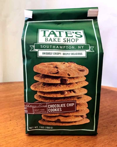 Tate's Bake Shop crisp cookies are one of GAYOT's taste tested brands