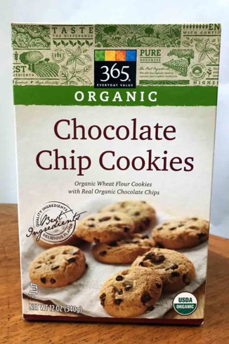 365 Organic chocolate chip cookies are one of GAYOT's taste tested brands