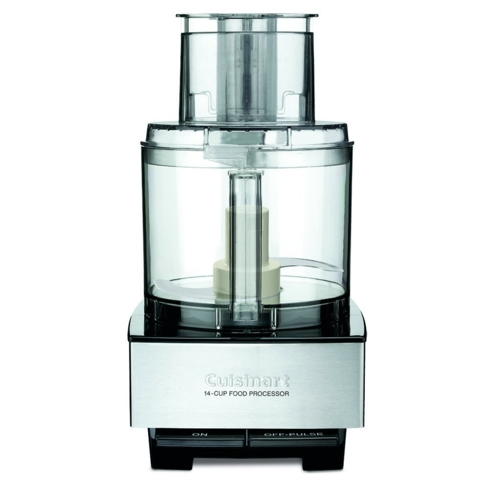 Cuisinart offers up yet another great product in the Cuisinart DFP-14BCNY Custom 14-Cup Food Processor