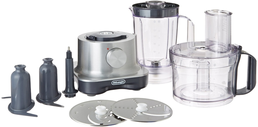 Get a two-in-one kitchen appliance with the DeLonghi Food Processor with Integrated Blender