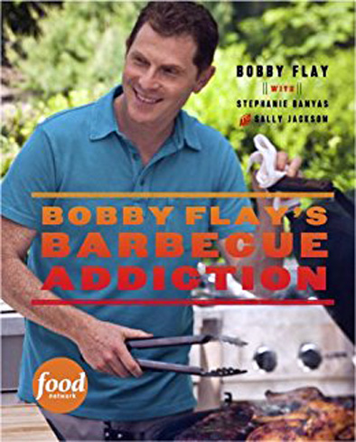 Chef and BBQ expert Bobby Flay's book is a step by step guide to mastering barbecue.