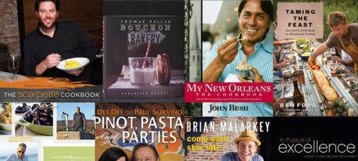 Check out our interviews with the big names behind the best chef-driven cookbooks