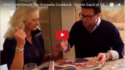 Video interview with chef Scott Conant