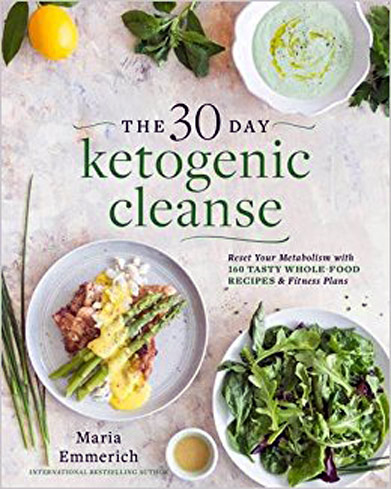 Maria Emmerich's illustrated keto cleanse book includes recipes and tips to heal the body.