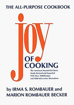 Irma S. Rombauer's Joy of Cooking is one of the first books of home cooking written by a domestic cook